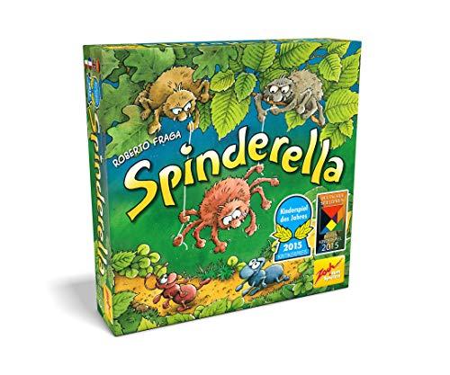 Noris Spiele 601105077 - Spinderella, Gioco di abilità per bambini (Gioco dell'anno 2015)