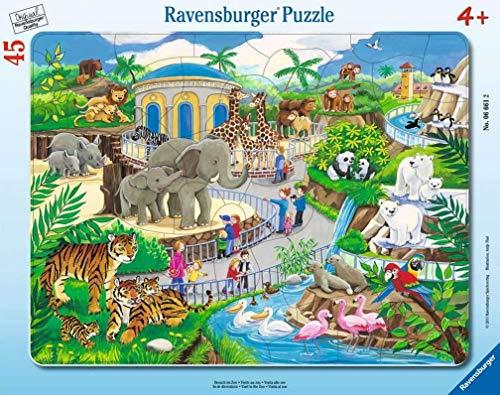 Ravensburger 06661 - Visita allo Zoo, Puzzle da 30-48 Pezzi