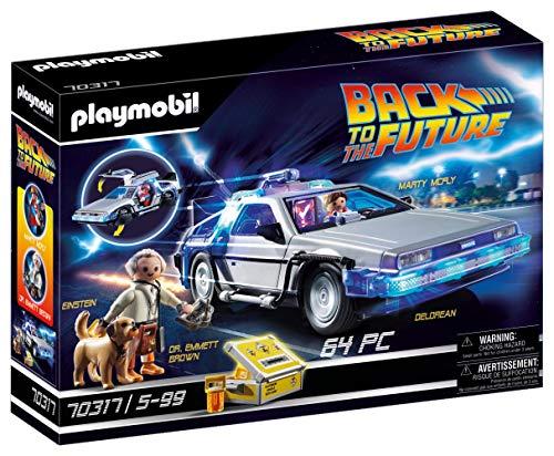 Playmobil Back to the Future 70317 - DeLorean con Effetti Luminosi, dai 6 anni