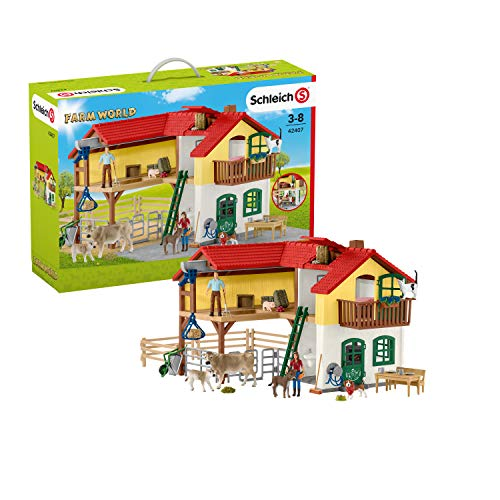 Farm World- Grande Fattoria Animali, Multicolore, Large, 42407