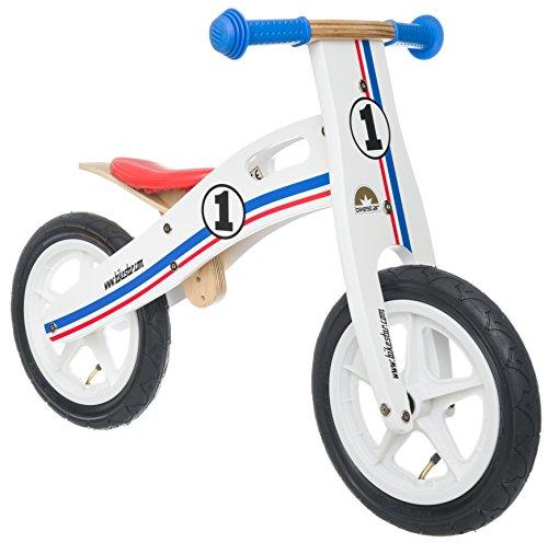 BIKESTAR Bicicletta Senza Pedali in Legno 3 - 4 Anni per Bambino et Bambina ★ Bici Senza Pedali Bambini...