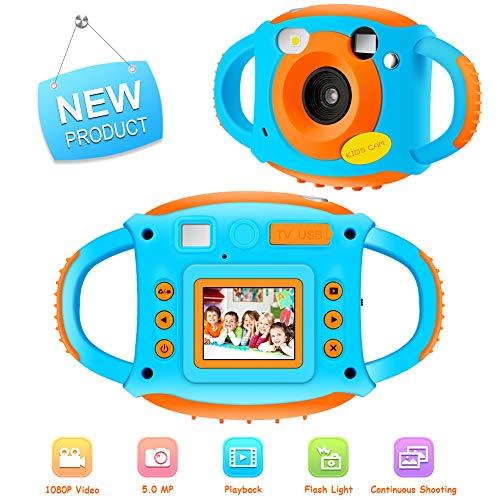 Videocamere per Bambini 5 MP Fotocamera per Bambini 1.77 Videocamera HD a Colori per Bambini Macchina...