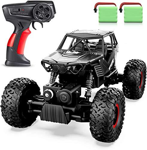 ANTAPRCIS 1:14 Auto Telecomandata, 2,4 GHz 4WD RC Auto di Tutto Terreno, con 2 Batterie Caricabile,...