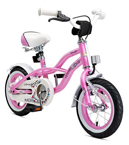 BIKESTAR Bicicletta Bambini 3-5 Anni Bici Bambino Bambina 12 Pollici Freno a Pattino e Freno a...