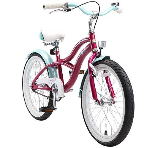 BIKESTAR Bicicletta bambini 6 - 7 anni ★ Bici bambino bambina 20 pollici Freno a pattino e freno a...