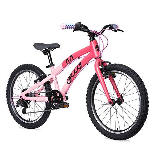 Ollo Bikes da 20', Bici per Bambini a Partire da 6 Anni, per Maschi e Femmine, Leggera, con Marce -...