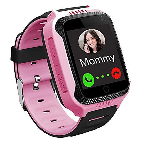 Smartwatch Bambini GPS LBS Tracker - Orologio Intelligente Bambini per Ragazzi Ragazze, Touch Screen...