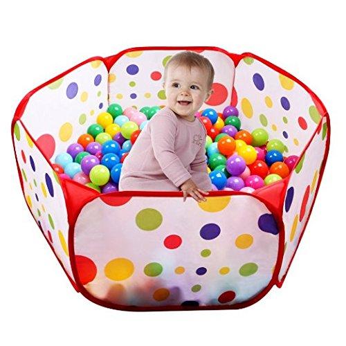 UCLEVER Piscina di Palline Ball Pit Pool Bambini Tenda Gioca Piscina per Bambini Pieghevole Pop-up...
