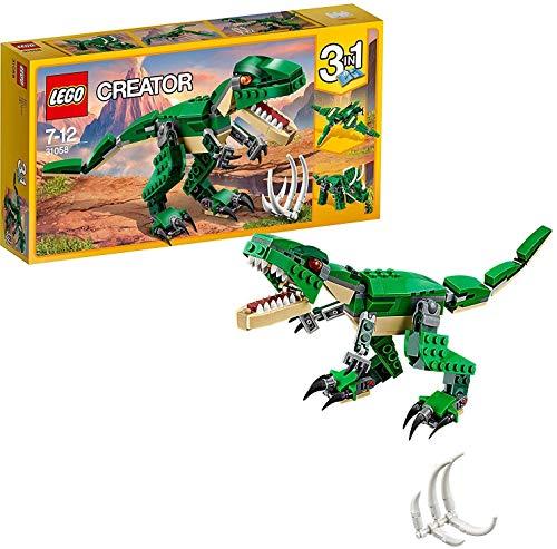 LEGO- Creator Tirannosauro 3 in 1 Set di Costruzioni per Creare Tre Diversi Dinosauri per Bambini 7-12...