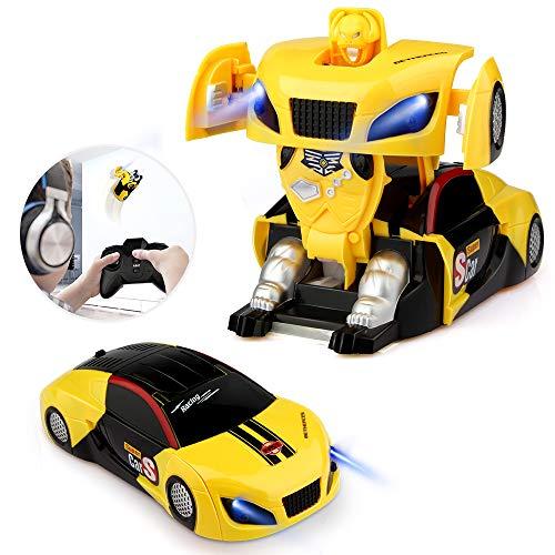 Blasland Macchina Telecomandata Robot, Giocattoli per Bambini Auto Radiocomandata Trasformabile...