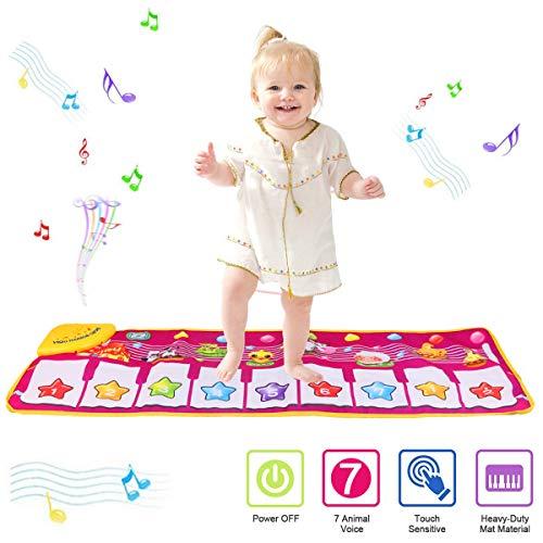 PROACC Tappetino per Pianoforte, Giocattolo per Tappetino per Pianoforte per Bambini, Grande Formato (39...