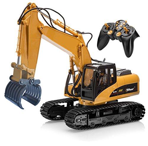 Top Race Escavatore della forcella di telecomando RC di 15 canali, costruzione attacca la forcella del...