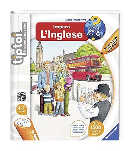 Libro interattivo Imparo l'inglese