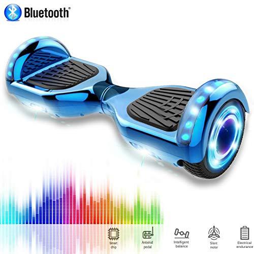 Hoverboard CHIC 6.5 pollici Autobilanciato Self Balance, connessione Bluetooth con LED