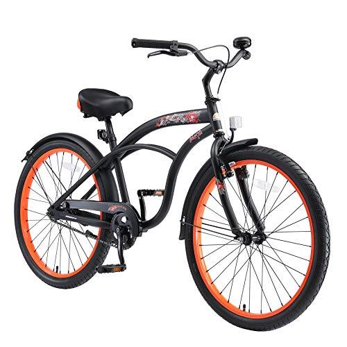BIKESTAR Bicicletta Bambini 10-13 Anni Bici Bambino Bambina 24 Pollici Freno a Pattino e Freno a...
