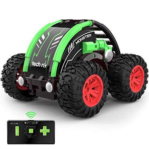 MINI Auto telecomandata 4WD con Batteria Ricaricabile Integrata RC Auto Telecomando Acrobatica RC Stunt...