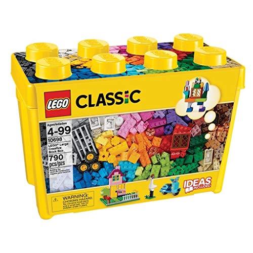 LEGOClassicScatolaMattonciniCreativiGrande,SetdiCostruzioniDivertenti,ContenitoreGio...