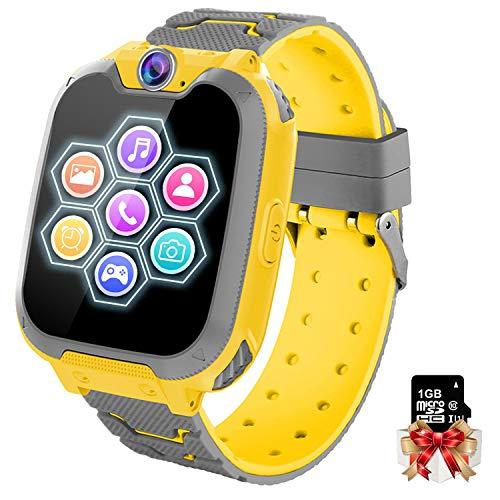 Orologio Intelligente Bambini con 7 Giochi - Musica MP3 Smartwatch Bambini, Orologio Intelligente Bambini...
