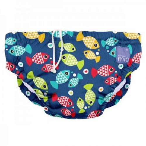 Bambino Mio Costumino contenitivo Unisex Bambini, Multicolore (Acquario), 0-6 mesi (5-7 kg)