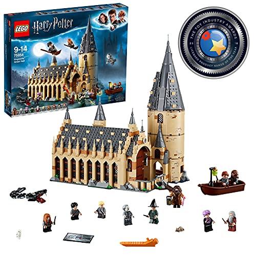 LEGO HarryPotter LaSalaGrandediHogwarts, Giocattolo e Idea Regalo per gli Amanti del Mondo...