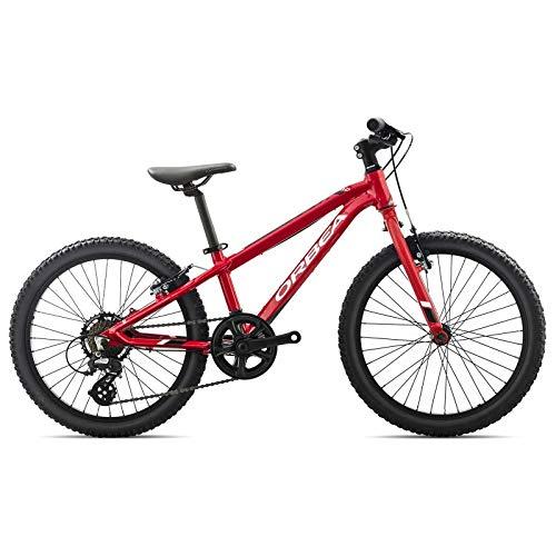 ORBEA MX 20 Dirt - Bicicletta per Bambini, 7 Marce, 20'', Rot, Taglia Unica