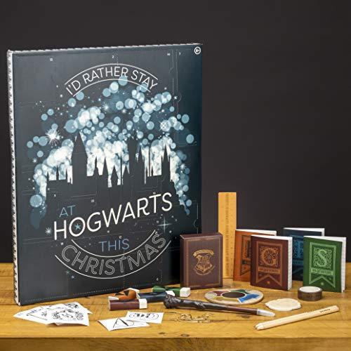 Paladone dell'Avvento 24 Porte Pieno di Regali e sorprese Hogwarts | Ideale per Bambini e Fan di...