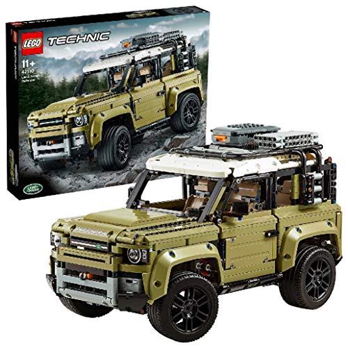 LEGO Technic Land Rover Defender, Set di Costruzioni per Ragazzi di +11 Anni e per i Veri Appassionati di...
