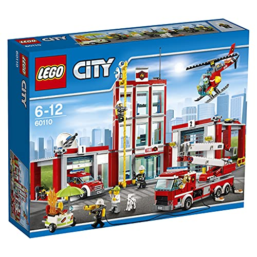 LEGO City Pompieri - Caserma dei Pompieri, 60110