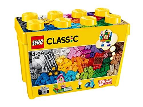 LEGO Classic ScatolaMattonciniCreativiGrande, Set di Costruzioni Divertenti, Contenitore Giocattoli...