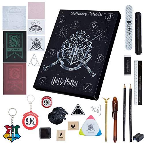 HARRY POTTER Calendario Avvento 2021 per Bambini con 24 Gadget Originali da Scoprire, Magici Regali di...