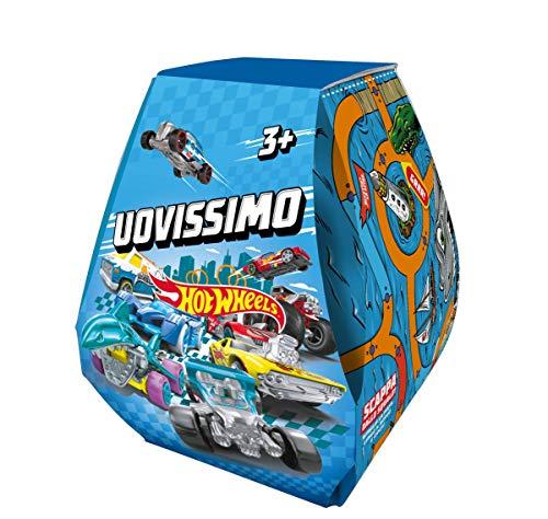 Hot Wheels Uovissimo, con Macchinina, Pista, Accessori e Tante altre Sorprese, Giocattolo per Bambini...