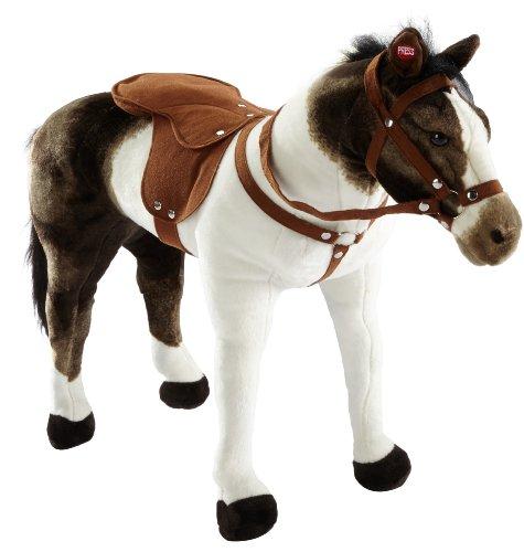 Happy People 58932 - Cavallo di razza 'Pinto', con suoni, portata ca. 100 kg