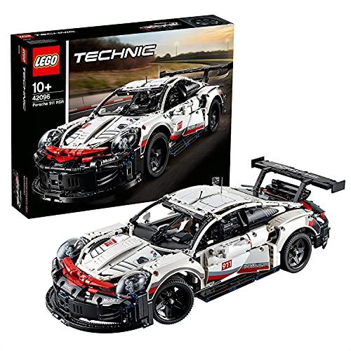 LEGO Technic Porsche911RSR, Auto da Corsa,Set di Costruzioni Avanzato,Modello da Collezione per...