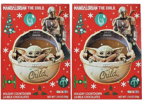 Needzo Star Wars Snowman Stormtrooper Milk Chocolate Candy Filled 2019 Calendario dell'Avvento di Natale,...