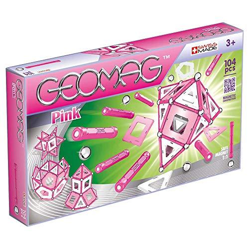 Geomag Pink Gioco di Costruzione Magnetico, Multicolore, 104 Pezzi