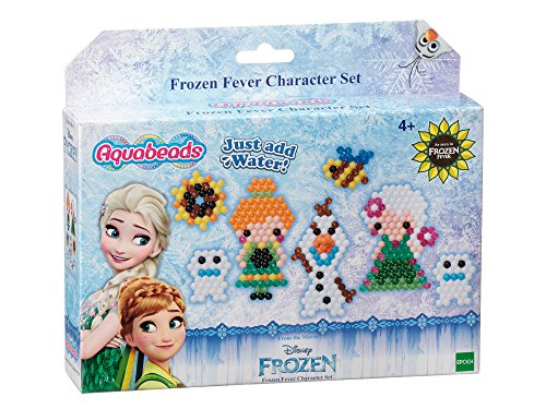 Aqua Beads - Set di Perline ad Acqua, Motivo: Frozen, Multicolore
