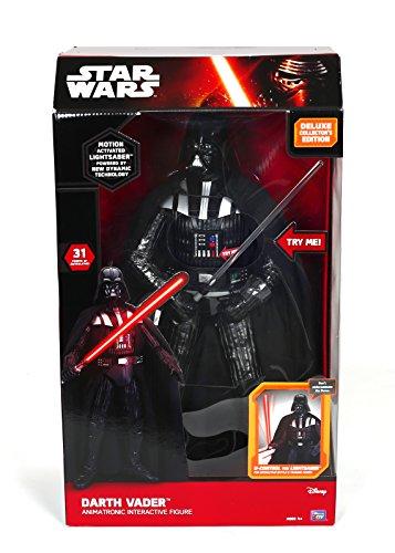 Giochi Preziosi - Star Wars Personaggio Interattivo Darth Vader con Luci e Suoni, Altezza 44 cm