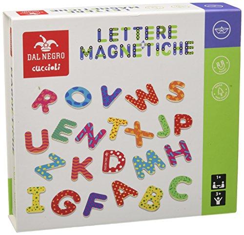 Dal Negro 53827-Lettere Magnetiche, Multicolore, 822064