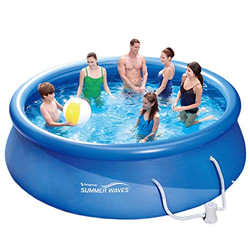 Summer Waves Fast Set Quick Up Pool 366x 91cm Swimming Pool famiglie piscina con pompa filtrante