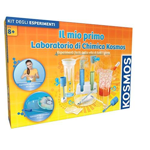Giochi Uniti Kosmos GU533 - Il Mio Primo Laboratorio di Chimica, Versione Italiana