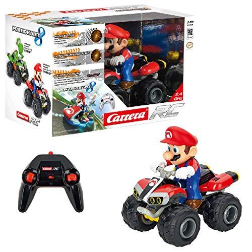 Carrera Toys Carrera RC 2,4 GHz Kart – Quad giocattolo da corsa radiocomandato con batterie...