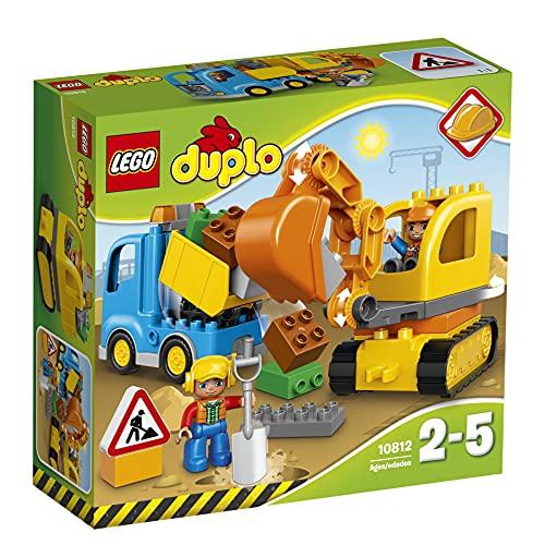 LEGO DuploTown CamioneScavatriceCingolata, Set di Costruzioni Prescolare con Mattoni Grandi,...