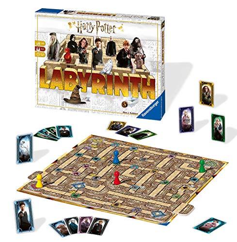 Ravensburger 26031, Labirinto Harry Potter, Versione Italiana, Gioco da Tavolo, Giocatori 2-4, Età...