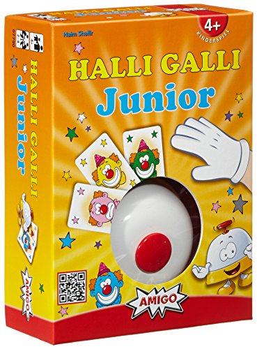 Amigo 7790 - Halli Galli Junior, Gioco di Carte [Importato dalla Germania]