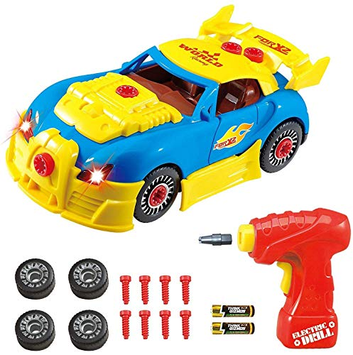 Think Gizmos TG642 smontare Racing Construction Toy Kids-Build Your Own Kit per Auto, Versione 3