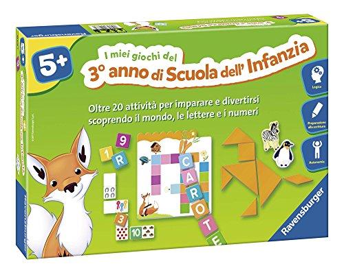 Ravensburger Italy-I Miei Giochi del Terzo Anno di Scuola dell'Infanzia, 24078 4