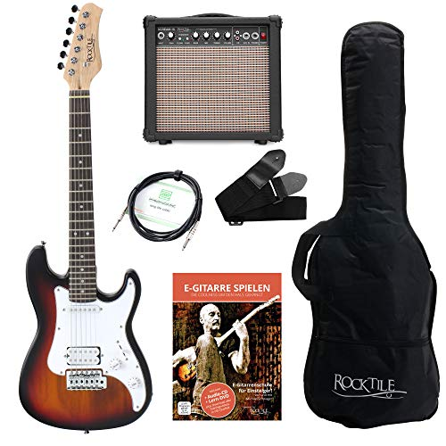 Chitarra elettrica 3/4 Rocktile Sphere Junior incl. Amplificatore col. SUNBURST