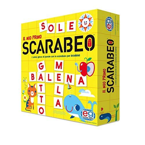 Spin Master Games Primo Scarabeo, tavolo, gioco per l'apprendimento di parole, dai 4 ai 7 anni, Junior,...