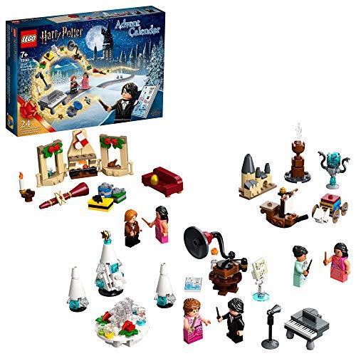 LEGO Harry Potter Calendario dell'Avvento 2020, Mini Set di Costruzioni Natalizie, Scena del Ballo di...