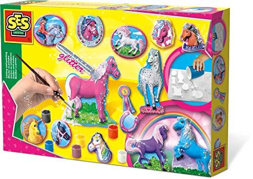 SES 01155 - Colare e colorare cavalli